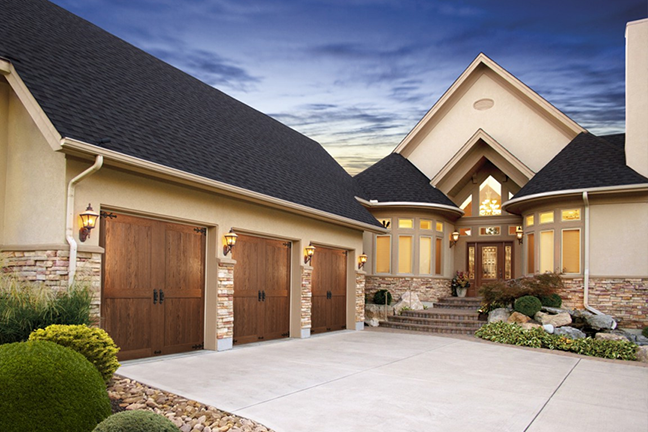 Canyon Ridge Sectional Garage Doors