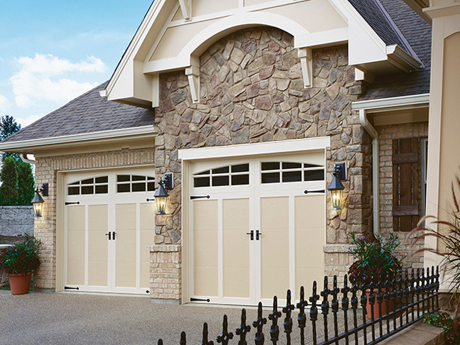 COACHMAN® Collection Authentic looking insulated steel king_door_residential5 & Garage Door Photo Gallery - King Door Company | Bakersfield CA