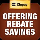 clopay door rebate savings