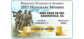 7450 DISTRICT BLVD BAKERSFIELD, CA 93313 Phone Number: (661) 397 2744. King  Door Company ...