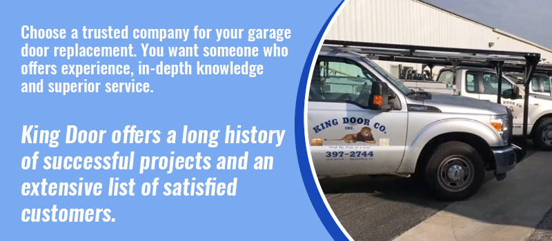 trusted company for garage door replacement