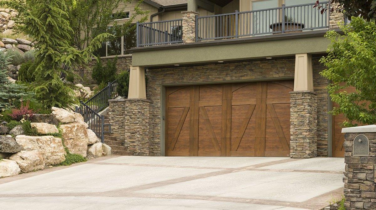 Real Wood Garage Door