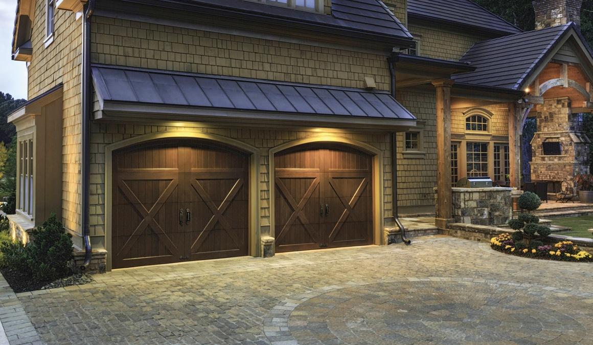 Reserve Wood Collection Garage Door