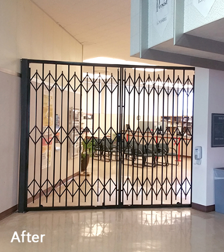 Commercial Installs Before Amp After King Door Company
