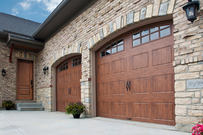 The Clopay Reserve Wood Collections Offer Diffe Takes On Real Garage Doors Or You Can Also Achieve High End Look At A Lower Price By