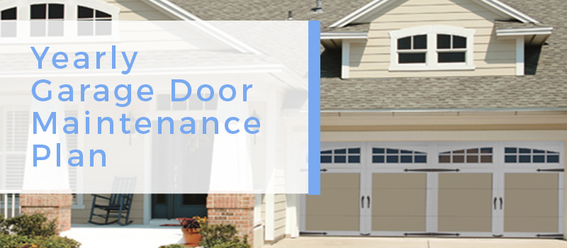 garage door maintenance plan