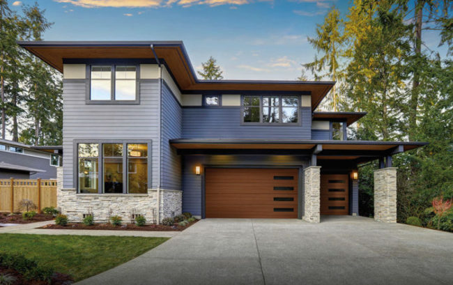 Modern Residential Garage Doors King Door Company