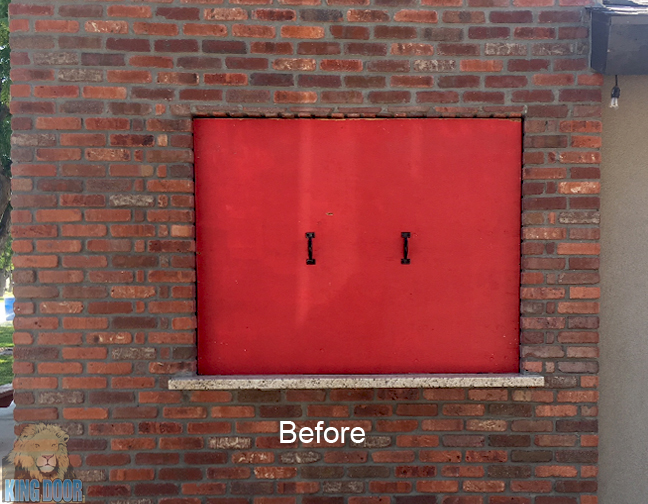 Fire Fighters Before And After 1 A King Door Company