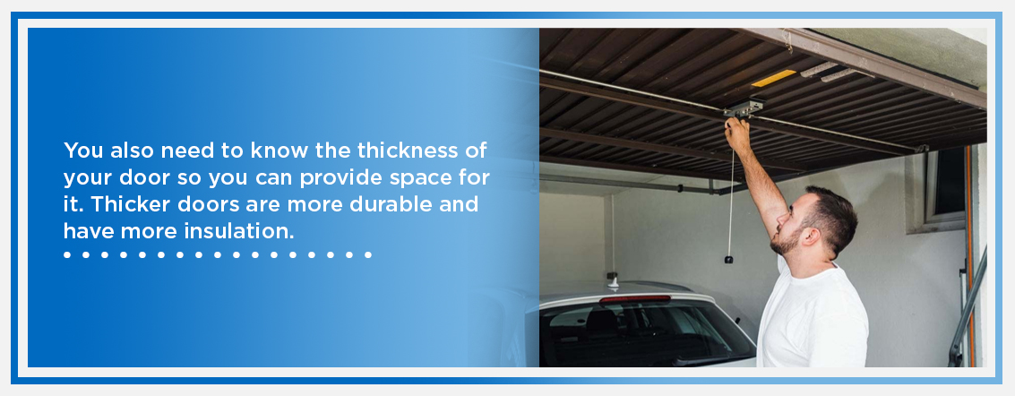 Garage Door Thickness